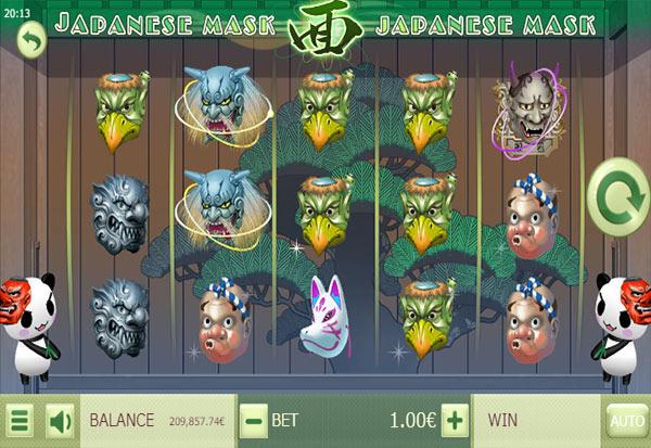 Japanese Mask 777 Slots Bay game