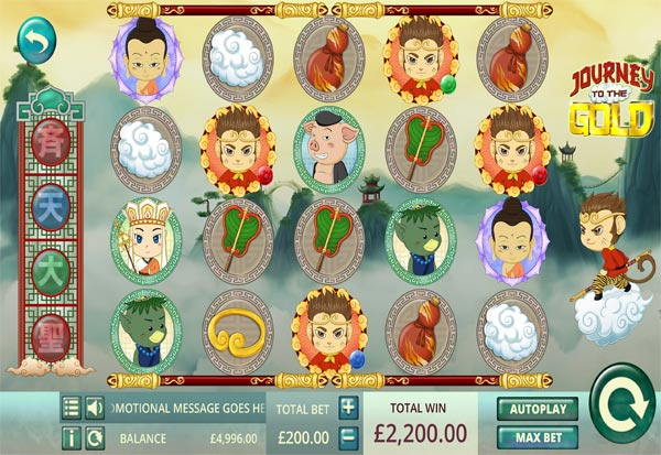 Journey To The Gold 777 Slots Bay game