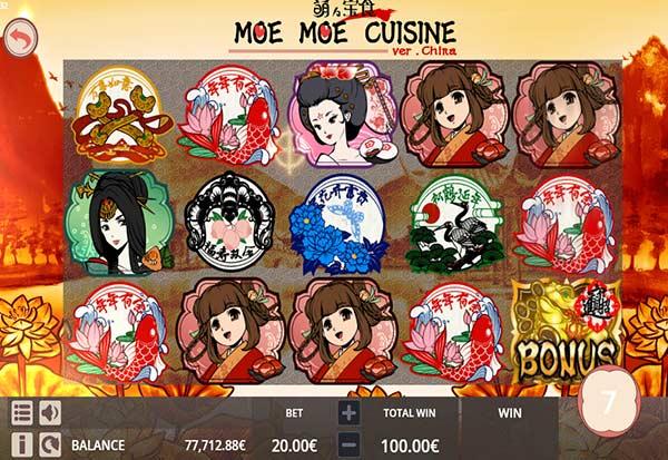 Moe Moe 777 Slots Bay game