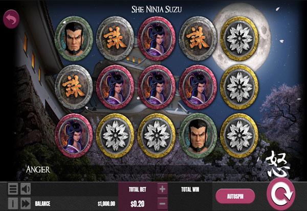 She Ninja Suzu 777 Slots Bay game