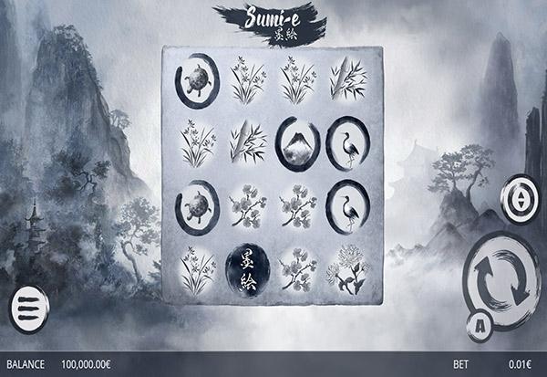 Sumi E 777 Slots Bay game