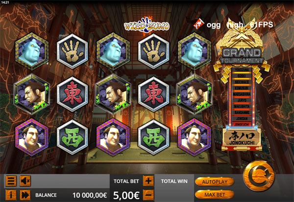 Wild Sumo 777 Slots Bay game