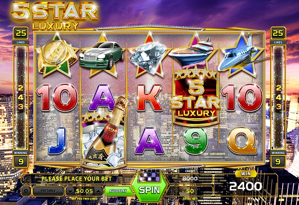 Five Star Luxury 777 Slots Bay game