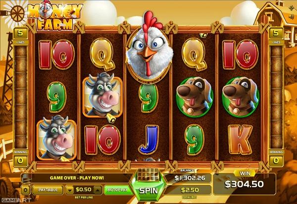 Money Farm 777 Slots Bay game