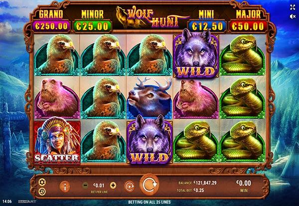 Wolf Hunt 777 Slots Bay game