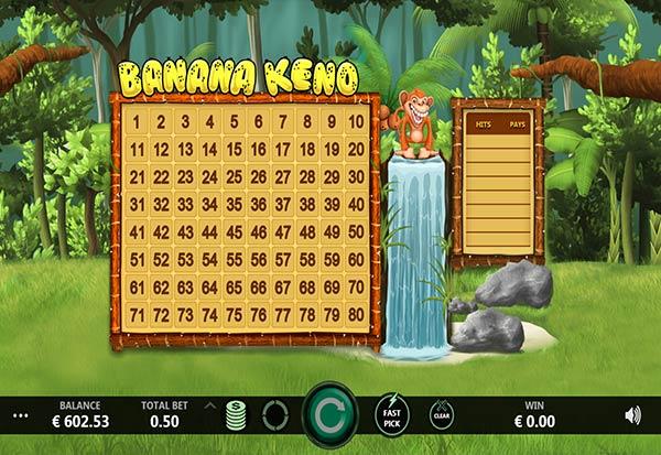 Banana Keno 777 Slots Bay game