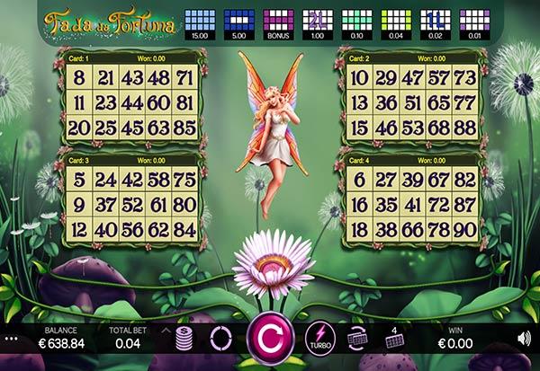 Bingo Fada da Fortuna 777 Slots Bay game