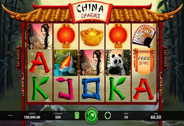 China Charms 777 Slots Bay game
