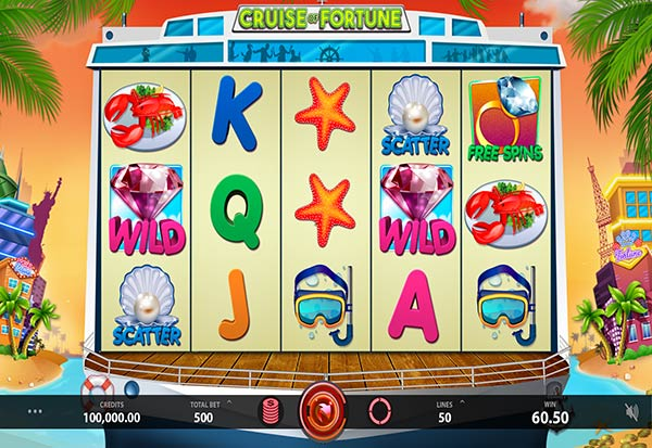 Cruise of Fortune 777 Slots Bay game