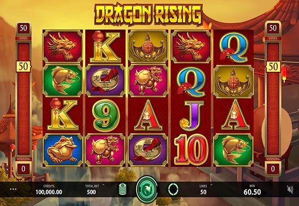 Dragon Rising 777 Slots Bay game