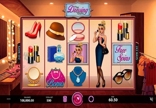 Dressing Room 777 Slots Bay game
