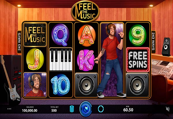 Feel The Music 777 Slots Bay game