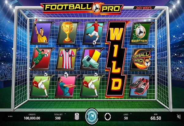 Football Pro 777 Slots Bay game