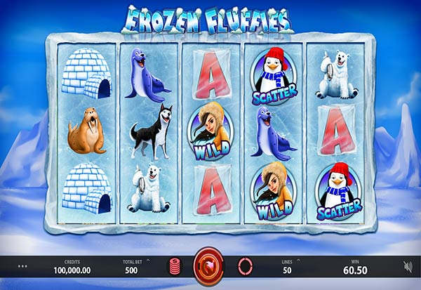 Frozen Fluffies 777 Slots Bay game
