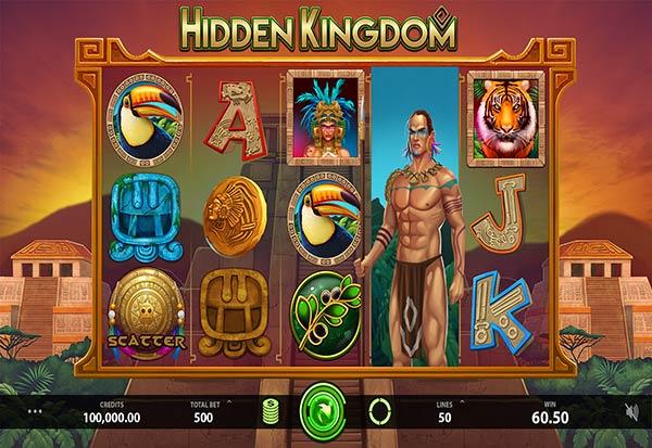 Hidden Kingdom 777 Slots Bay game