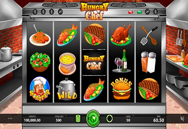 Hungry Chef 777 Slots Bay game