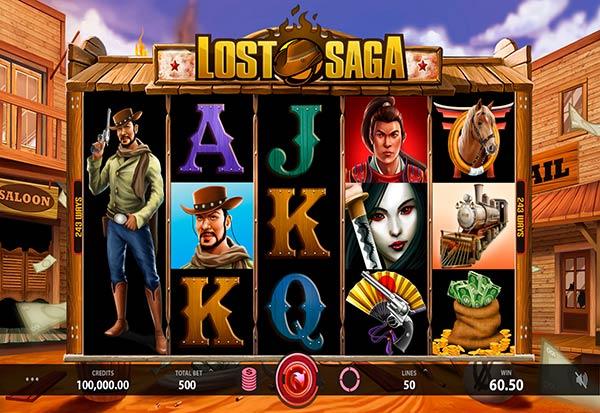 Lost Saga 777 Slots Bay game
