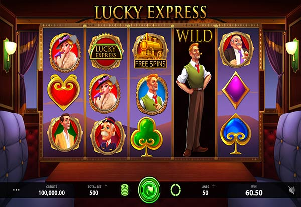 Lucky Express 777 Slots Bay game