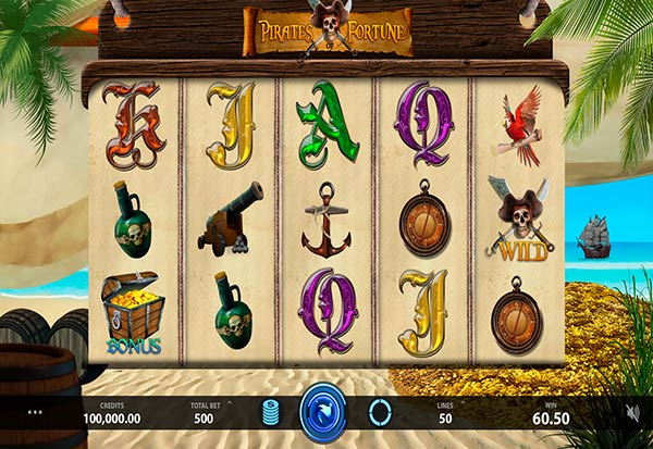 Pirates of Fortune 777 Slots Bay game
