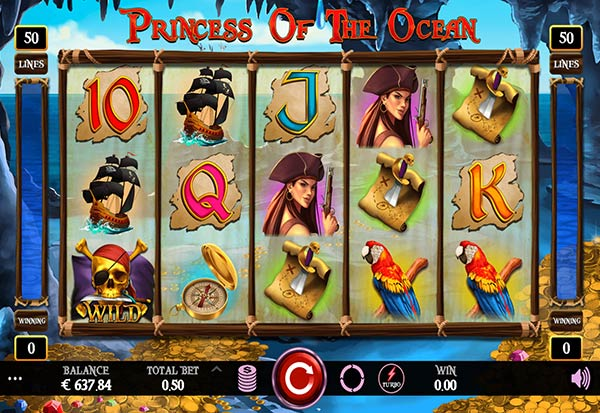 Princess of the Ocean 777 Slots Bay game