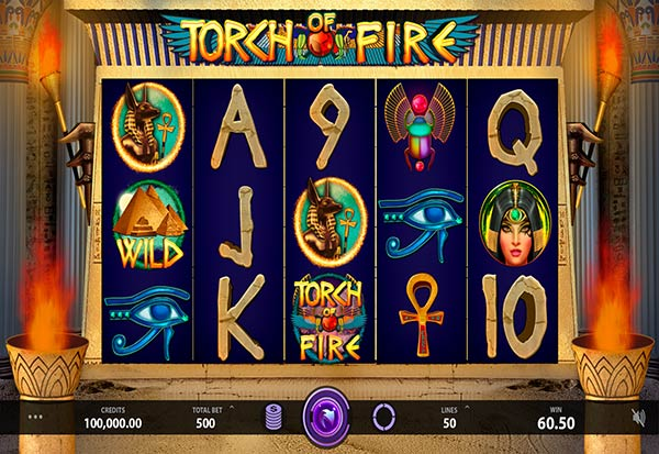 Torch of Fire 777 Slots Bay game