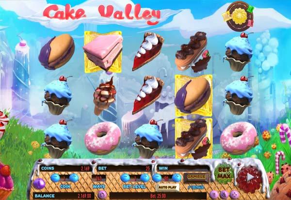 Cake Valley 777 Slots Bay game