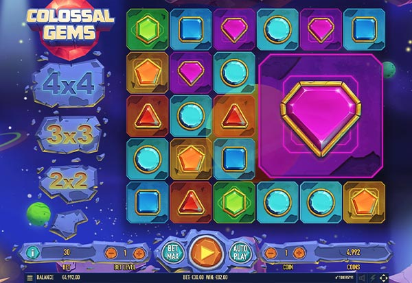 Colossal Gems 777 Slots Bay game