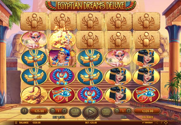 Egyptian Dreams Deluxe 777 Slots Bay game