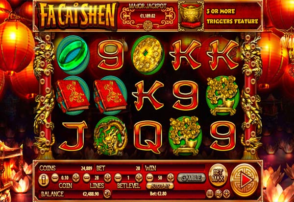 Fa Cai Shen 777 Slots Bay game