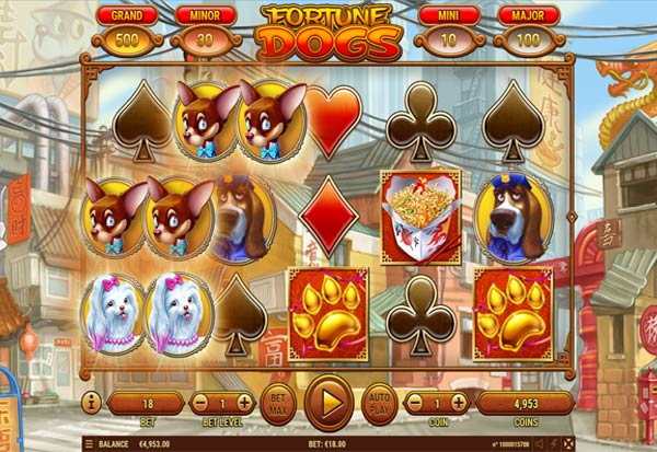 Fortune Dogs 777 Slots Bay game