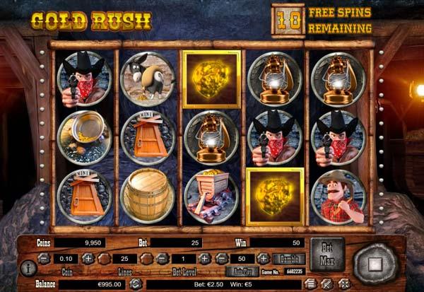 Gold Rush 777 Slots Bay game