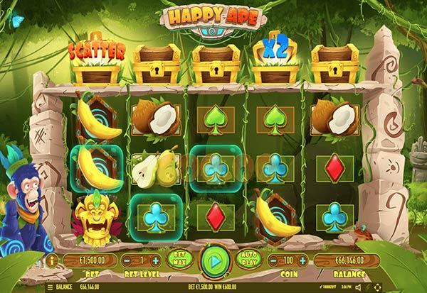 Happy Ape 777 Slots Bay game