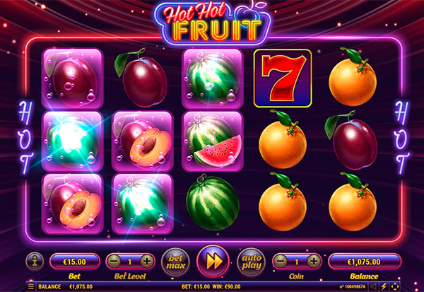 Hot hot Fruit 777 Slots Bay game