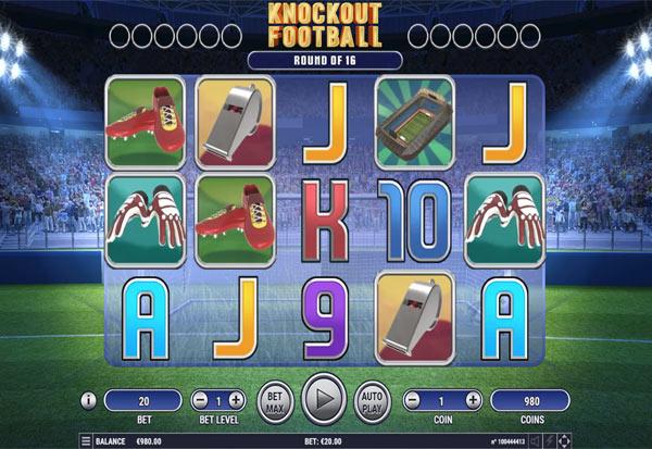 Knockout Football 777 Slots Bay game
