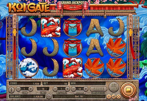 Koi Gate 777 Slots Bay game