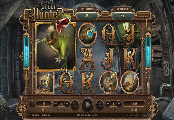 London Hunter 777 Slots Bay game