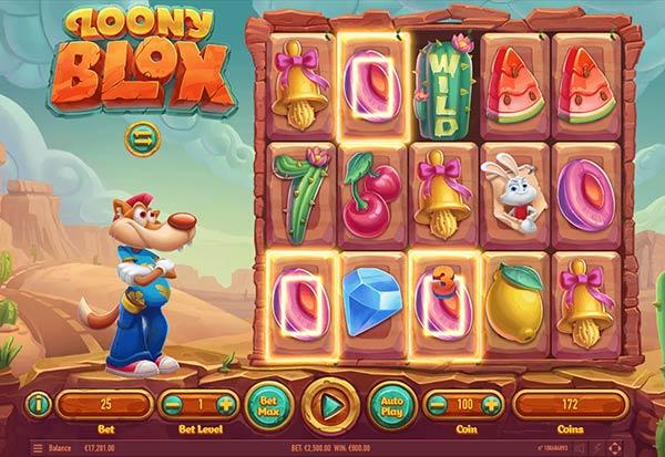 Loony Blox 777 Slots Bay game