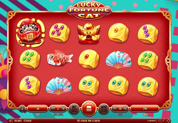 Lucky Fortune Cat 777 Slots Bay game