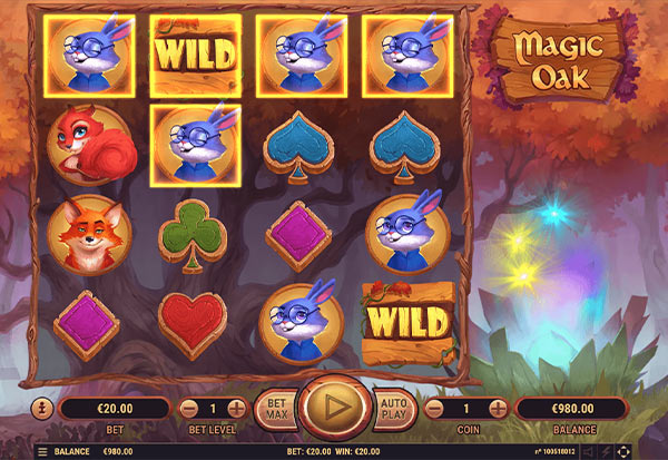 Magic Oak 777 Slots Bay game