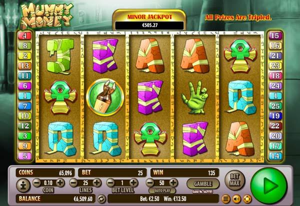 Mummy Money 777 Slots Bay game