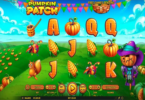Pumpkin Patch 777 Slots Bay game