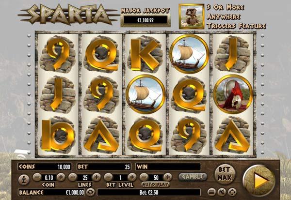 Sparta 777 Slots Bay game