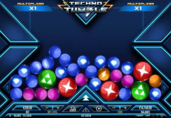Techno Tumble 777 Slots Bay game