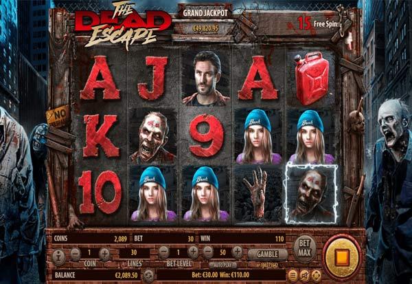 The Dead Escape 777 Slots Bay game