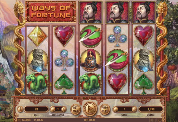 Ways Of Fortune 777 Slots Bay game