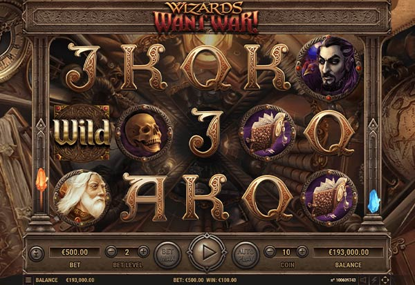 Wizards Want War 777 Slots Bay game