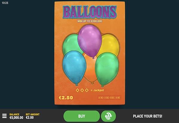 Balloons 777 Slots Bay game