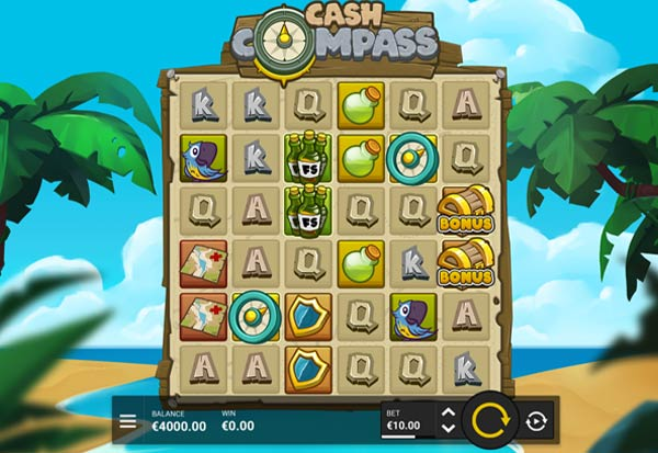 Cash Compass 777 Slots Bay game