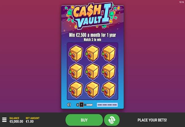 Cash Vault I 777 Slots Bay game