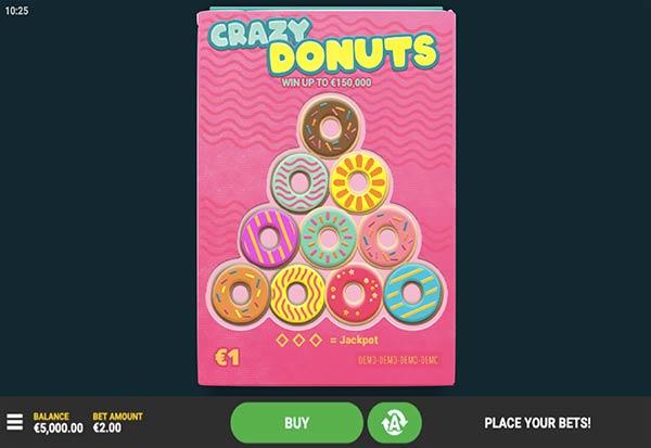 Crazy Donuts 777 Slots Bay game